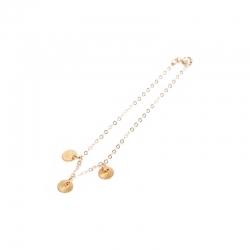 Bracelet gold discsedit