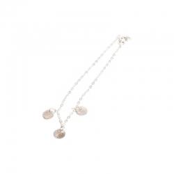 Bracelet silver discsedit