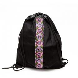 Jamal Backpack Pink and Purple