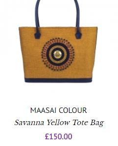 Maasai Colour Tote WP