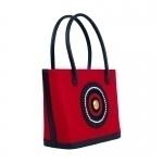 Mara Red Tote Bag-1