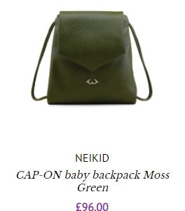 Neikid Baby Moss Backpack