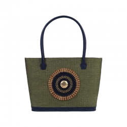 Safari Green Tote Bag