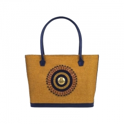 Savanna Yellow Tote Bag