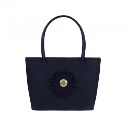 Tsavo Black Tote Bag